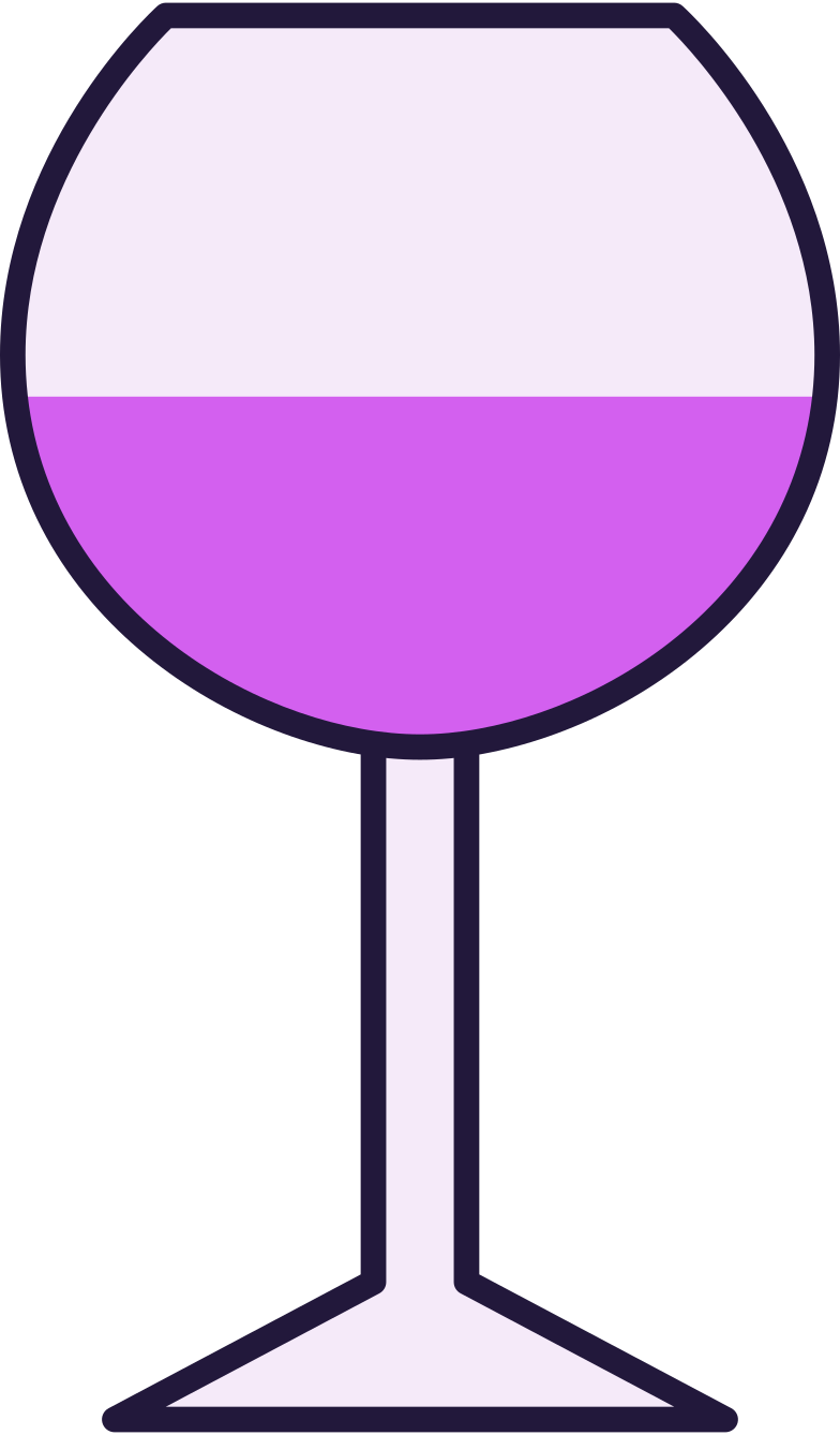 wine glass Clipart illustration in PNG, SVG