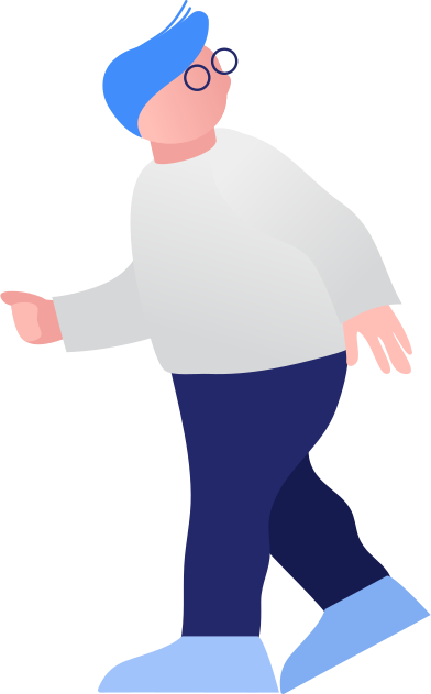 style fat boy walking images in PNG and SVG | Icons8 Illustrations