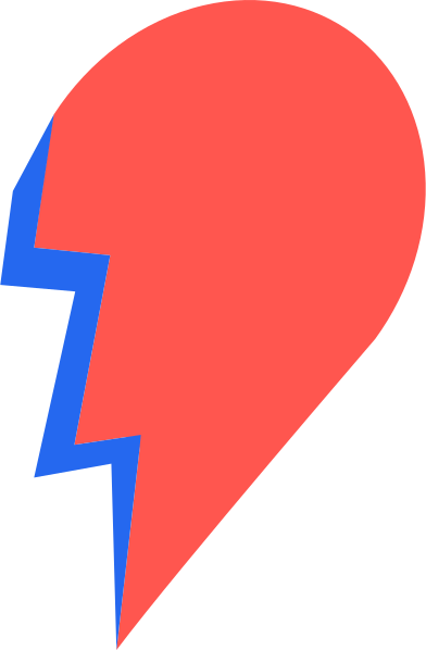 style half a heart images in PNG and SVG | Icons8 Illustrations
