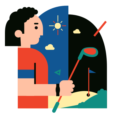 style Golf images in PNG and SVG   Icons8 Illustrations