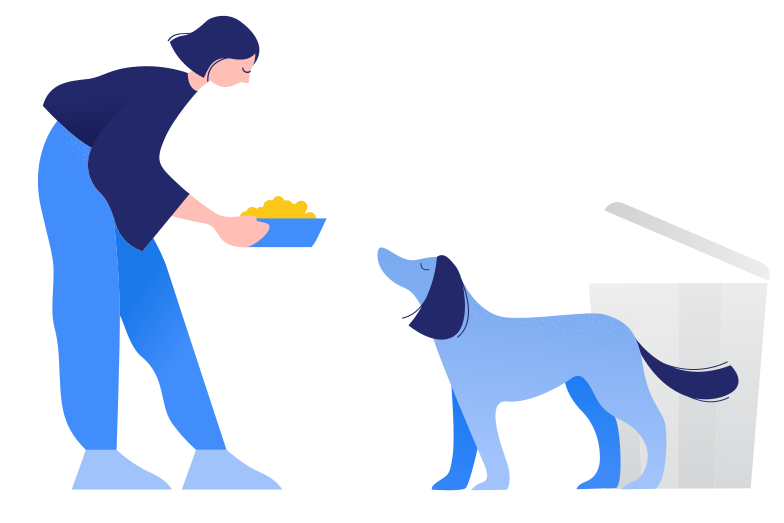 style Caring for stray animals Vector images in PNG and SVG | Icons8 Illustrations