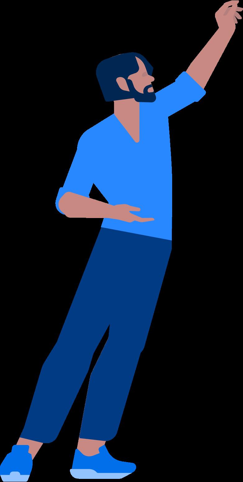 Imágenes vectoriales hombre sosteniendo algo en PNG y SVG estilo  | Ilustraciones Icons8