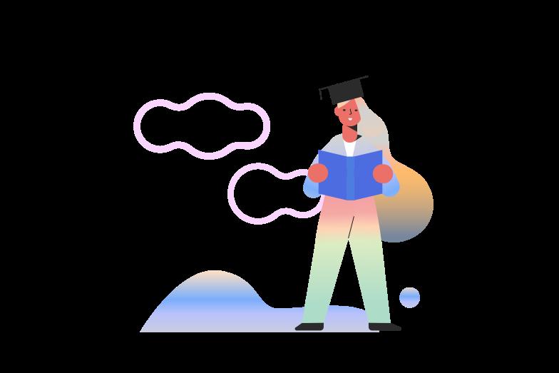 Higher Education Clipart illustration in PNG, SVG