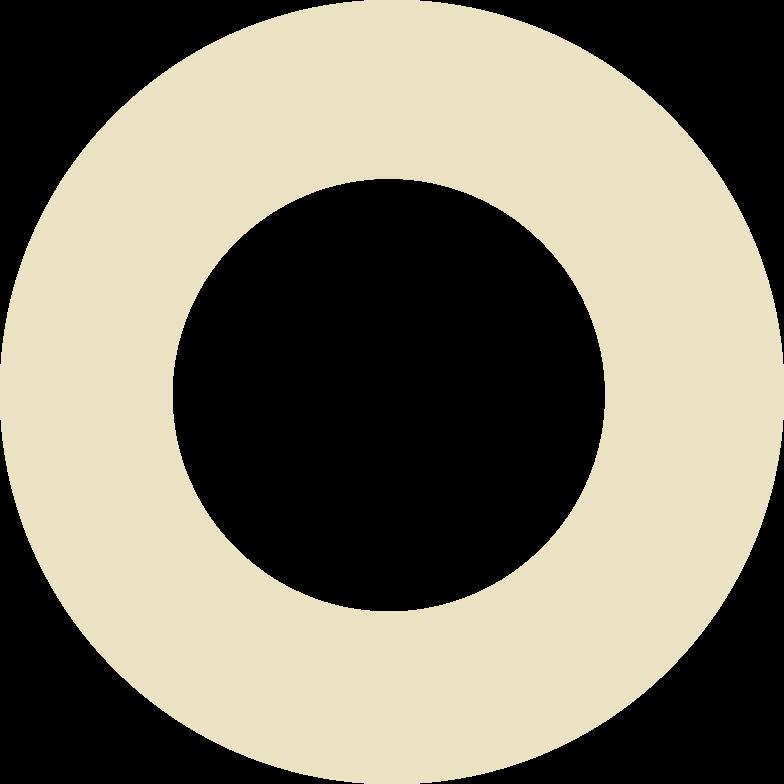 ring beige Clipart illustration in PNG, SVG