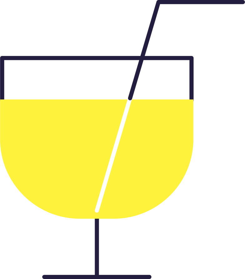 Service-cocktail Clipart-Grafik als PNG, SVG
