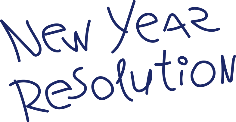 new year resolution Clipart illustration in PNG, SVG
