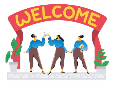 style Welcome images in PNG and SVG | Icons8 Illustrations