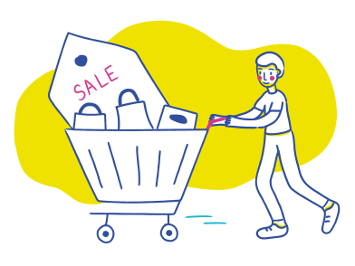 style Shopping man images in PNG and SVG | Icons8 Illustrations