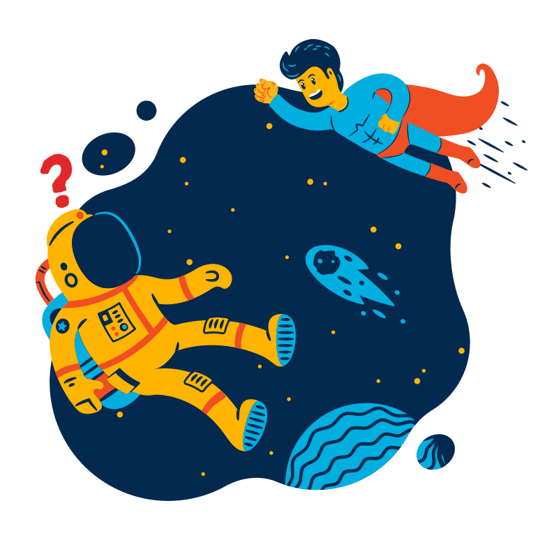 style Meeting in space Vector images in PNG and SVG | Icons8 Illustrations