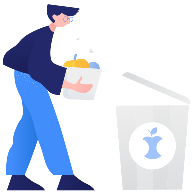 style Waste sorting- organic images in PNG and SVG | Icons8 Illustrations