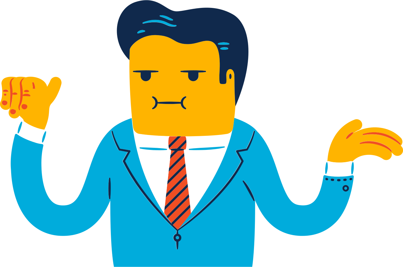 politician man Clipart illustration in PNG, SVG