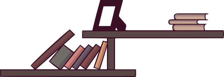 style bookshelves Vector images in PNG and SVG | Icons8 Illustrations