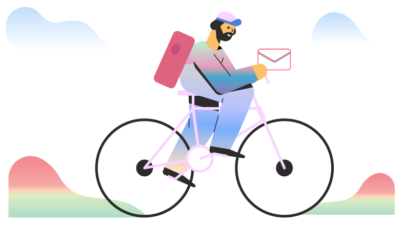 style Delivering a message Vector images in PNG and SVG | Icons8 Illustrations
