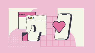 style Likes and social media  images in PNG and SVG | Icons8 Illustrations