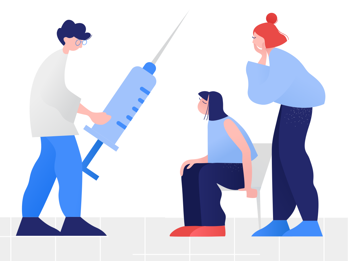 Vaccination Clipart illustration in PNG, SVG