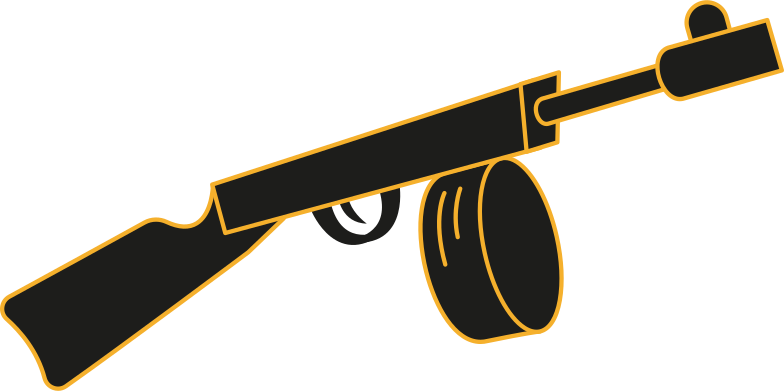 style machine gun Vector images in PNG and SVG | Icons8 Illustrations