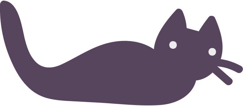 halloween cat Clipart illustration in PNG, SVG