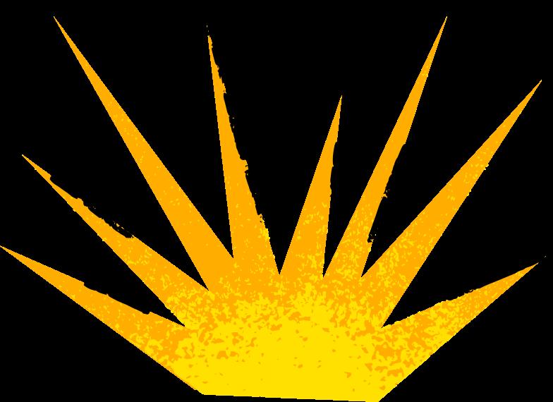 explosion Clipart-Grafik als PNG, SVG