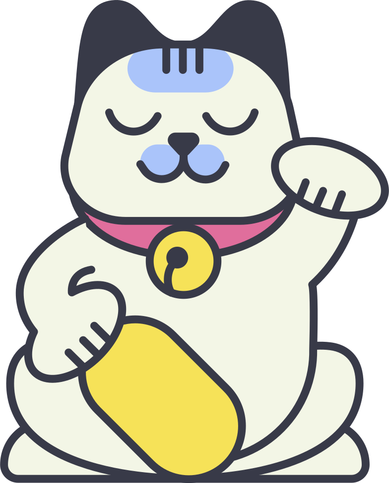 style maneki neko Vector images in PNG and SVG | Icons8 Illustrations