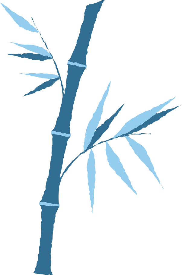 bamboo with leaves Clipart illustration in PNG, SVG