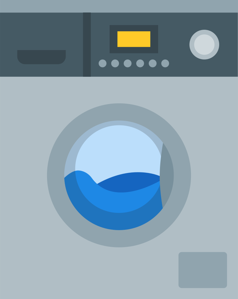 washing machine Clipart illustration in PNG, SVG