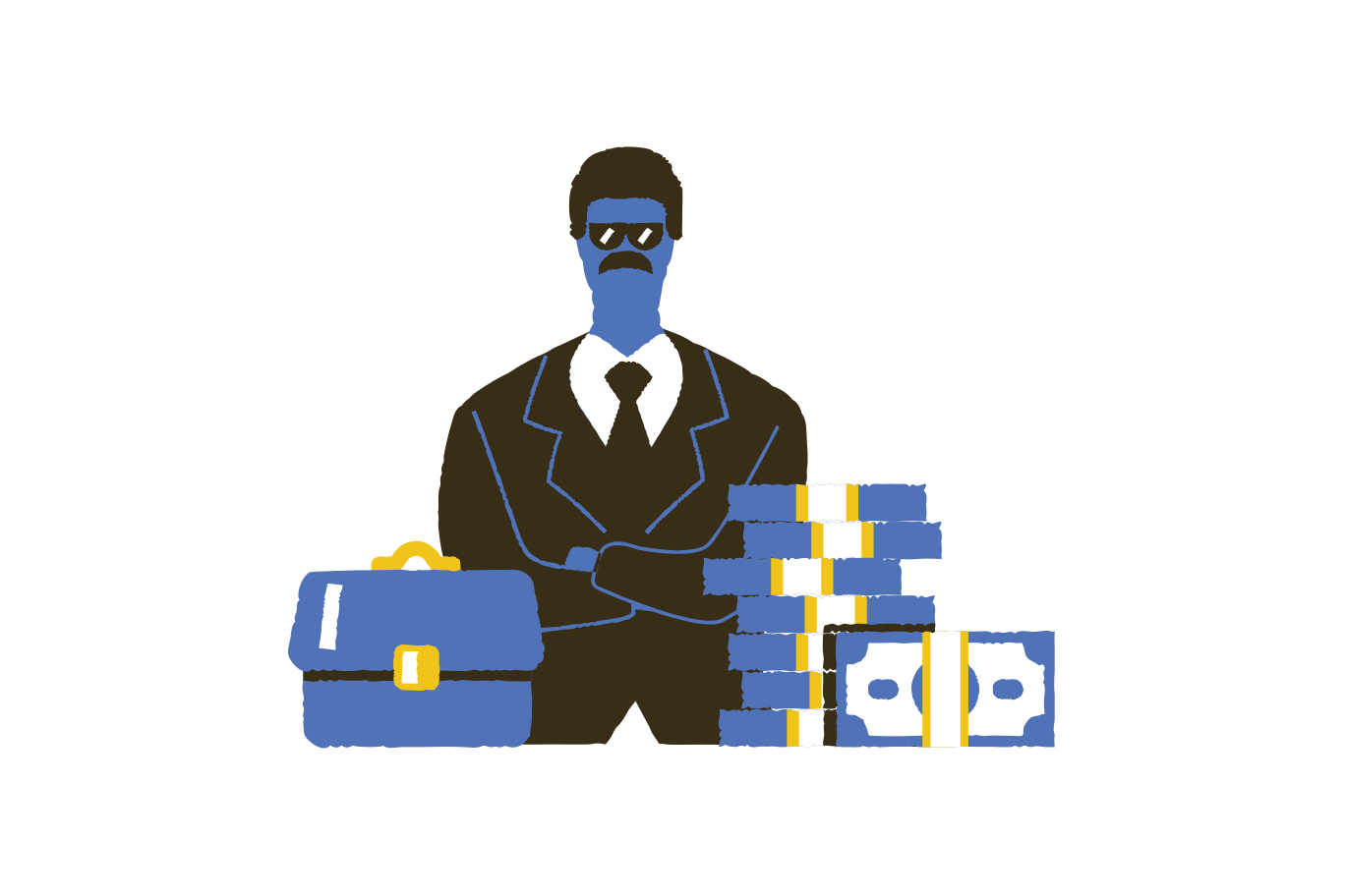 Security service Clipart illustration in PNG, SVG