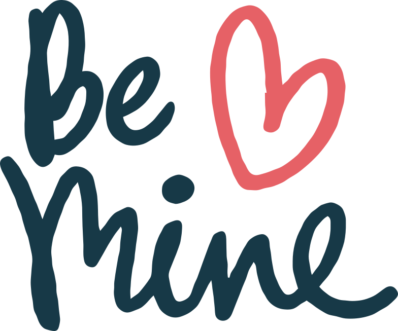 be mine Clipart illustration in PNG, SVG