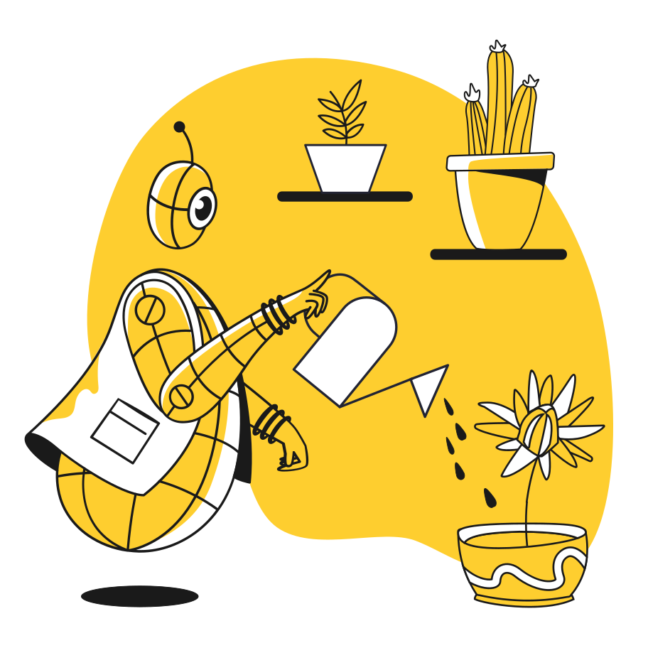 style Robogardener Vector images in PNG and SVG | Icons8 Illustrations