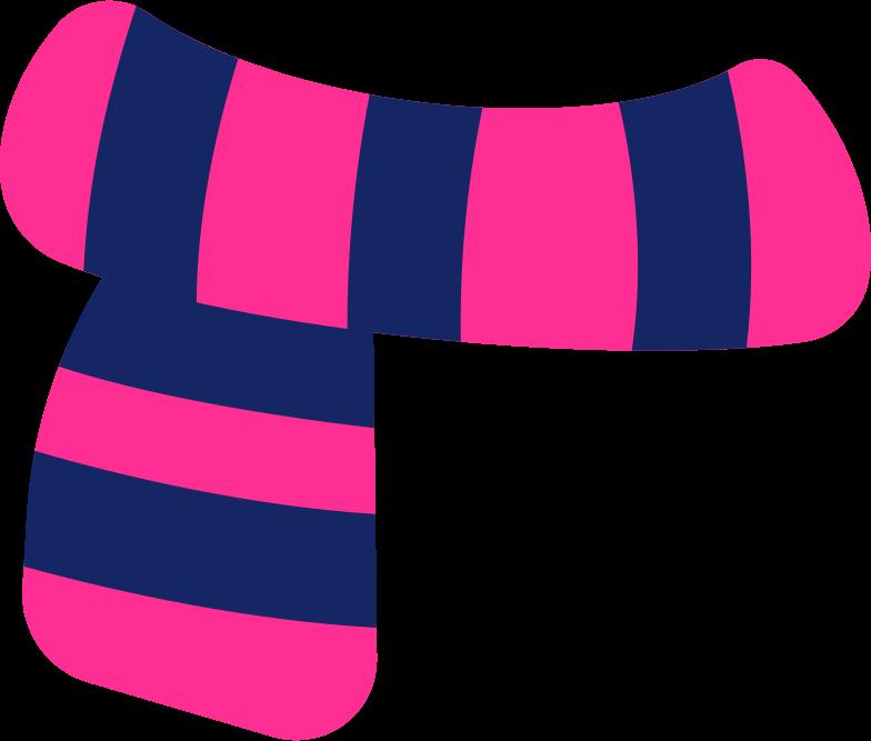 scarf Clipart illustration in PNG, SVG