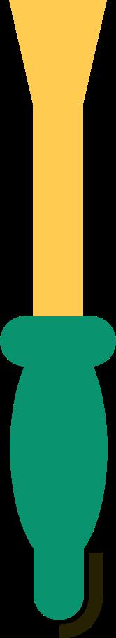 Schraubenzieher Clipart-Grafik als PNG, SVG