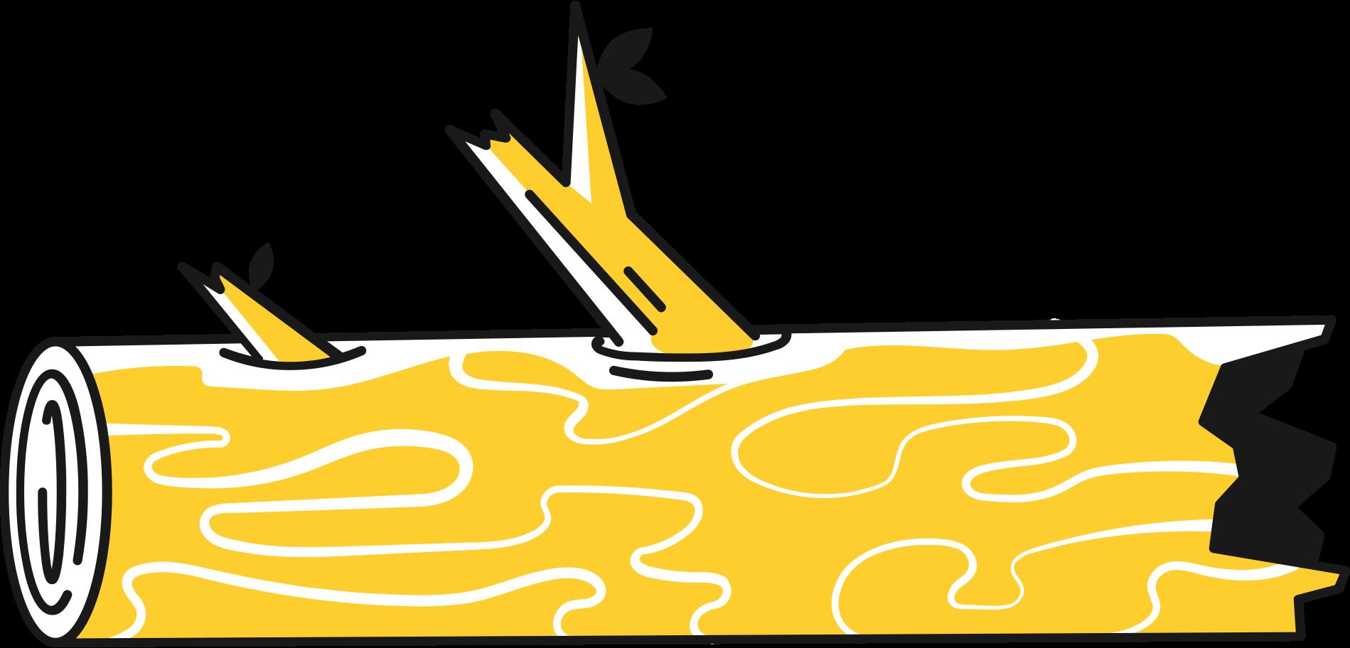 log trunk Clipart illustration in PNG, SVG