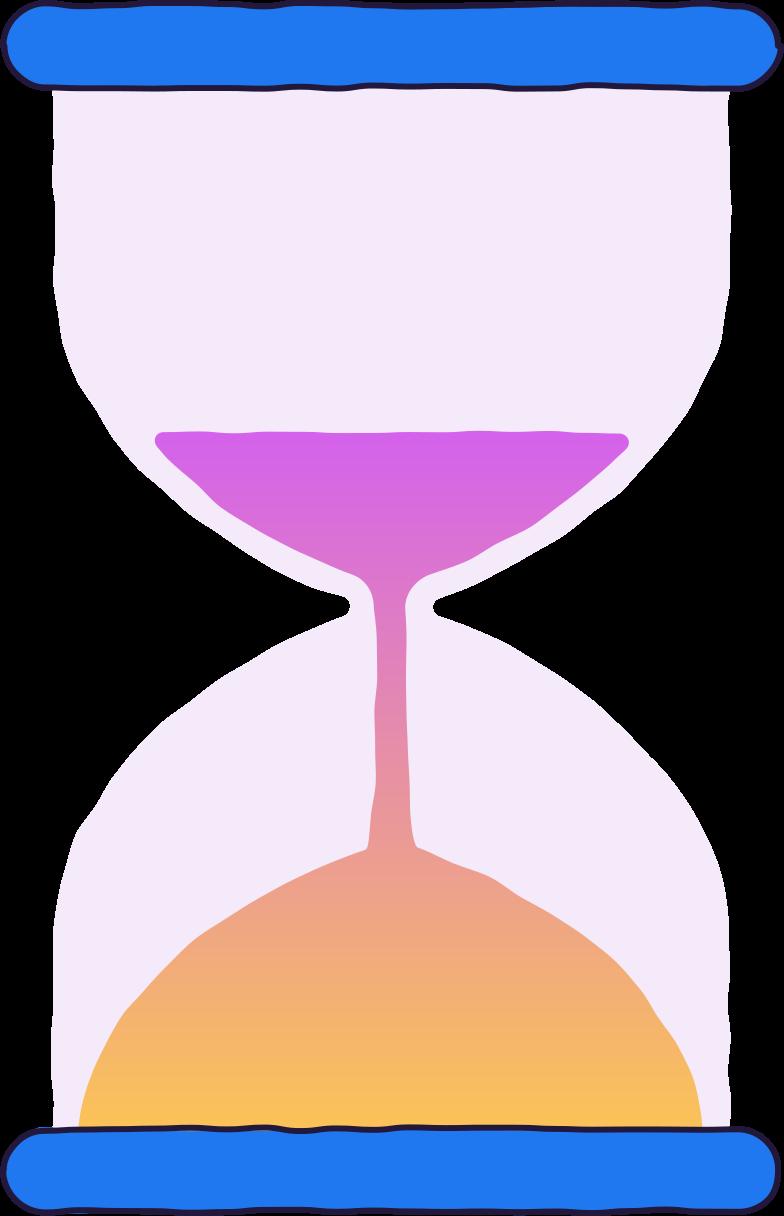glasstunde Clipart-Grafik als PNG, SVG