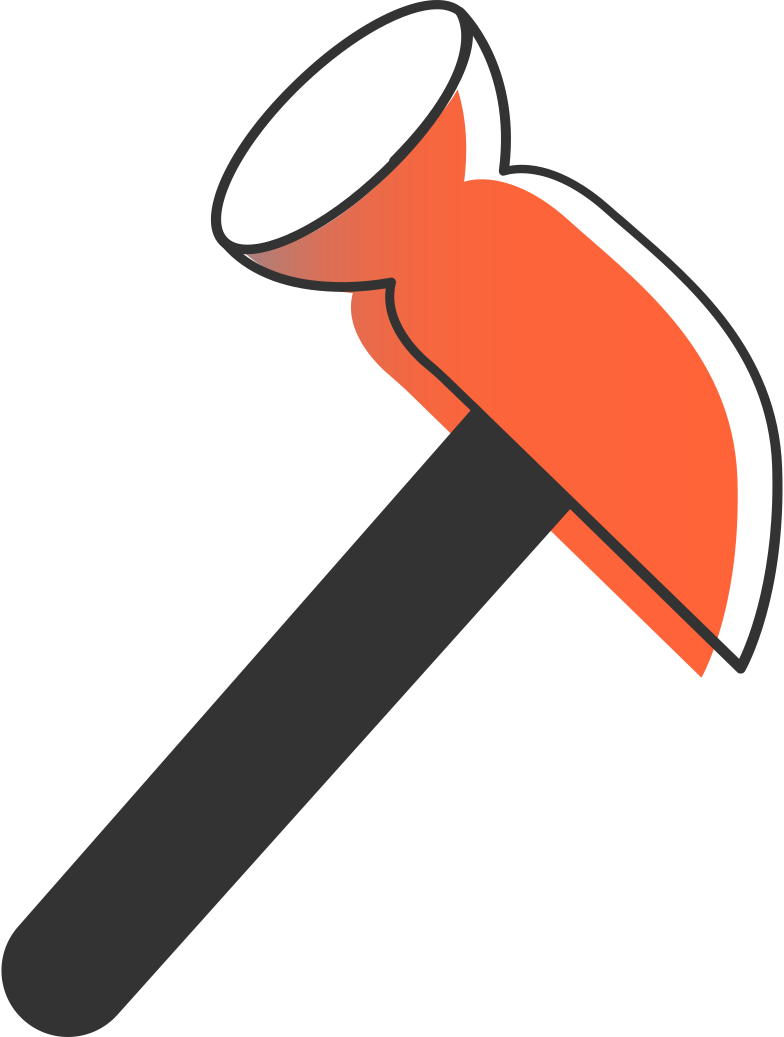 hammer Clipart illustration in PNG, SVG