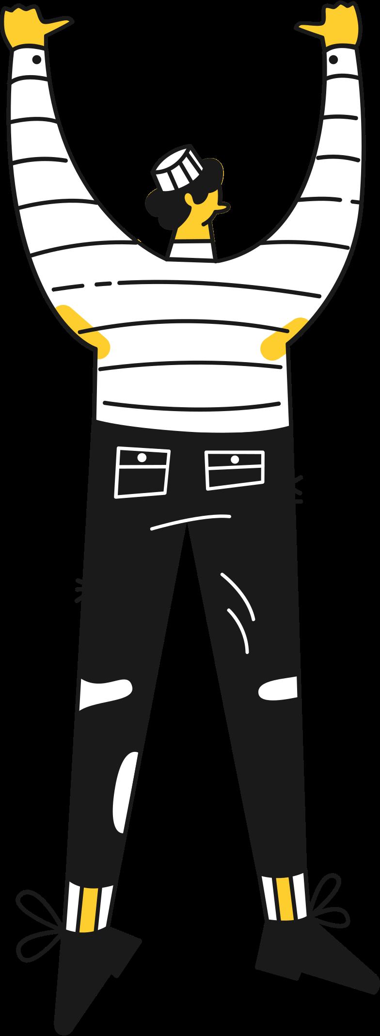 prisoner Clipart illustration in PNG, SVG