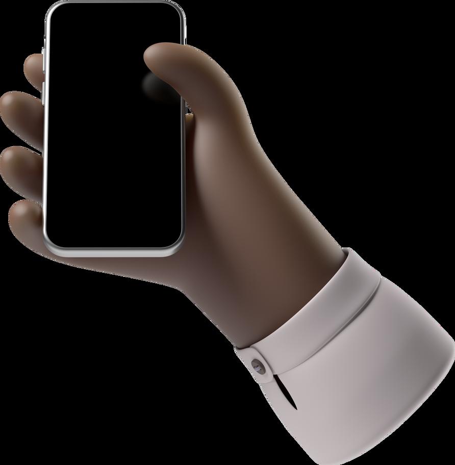 Style  main avec téléphone Images vectorielles en PNG et SVG | Icons8 Illustrations