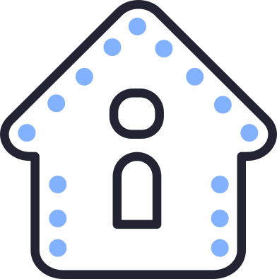 style gingerbread house images in PNG and SVG | Icons8 Illustrations
