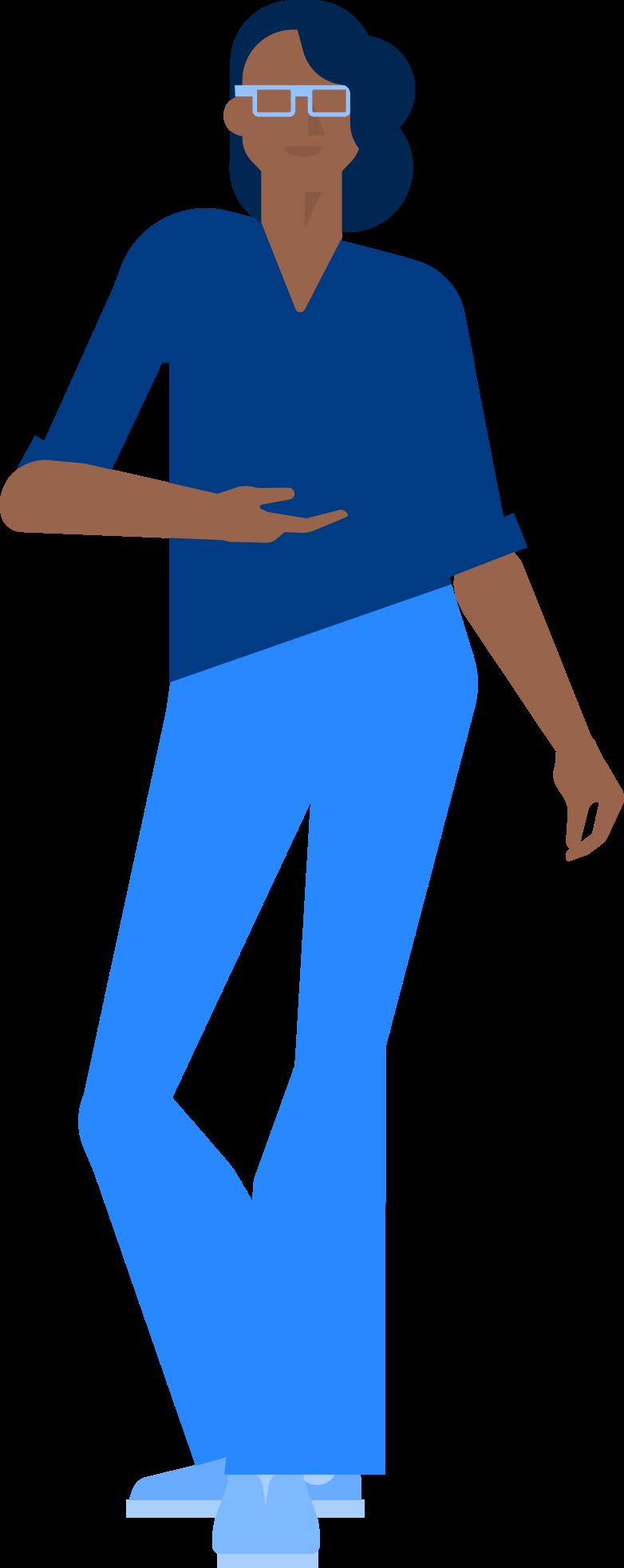 Ilustración de clipart de Mujer de compras en PNG, SVG