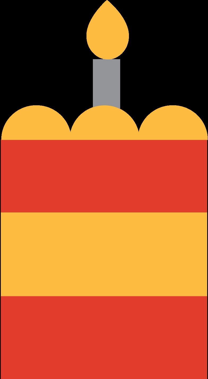 slice of cake Clipart illustration in PNG, SVG