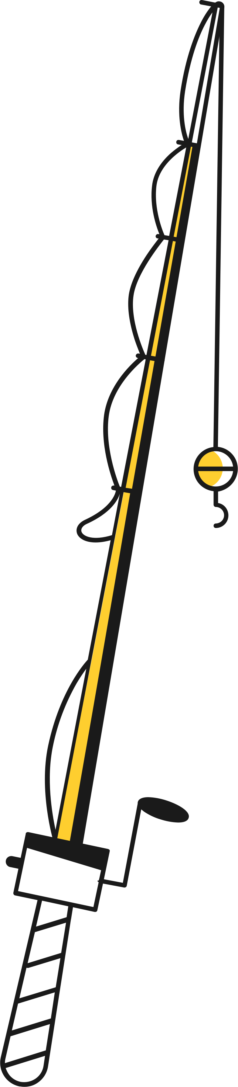 fishing rod Clipart illustration in PNG, SVG
