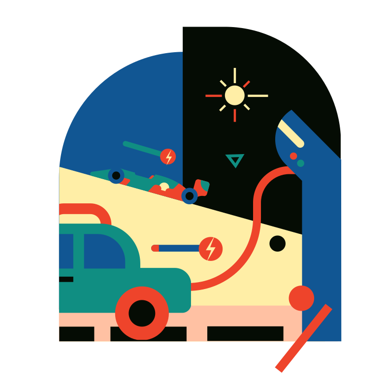 style Electric transport Vector images in PNG and SVG | Icons8 Illustrations