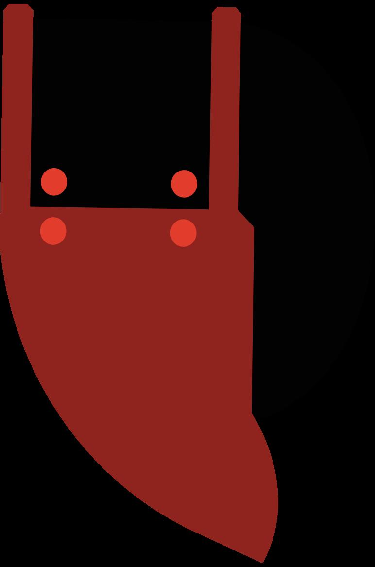 fencing helmet Clipart illustration in PNG, SVG