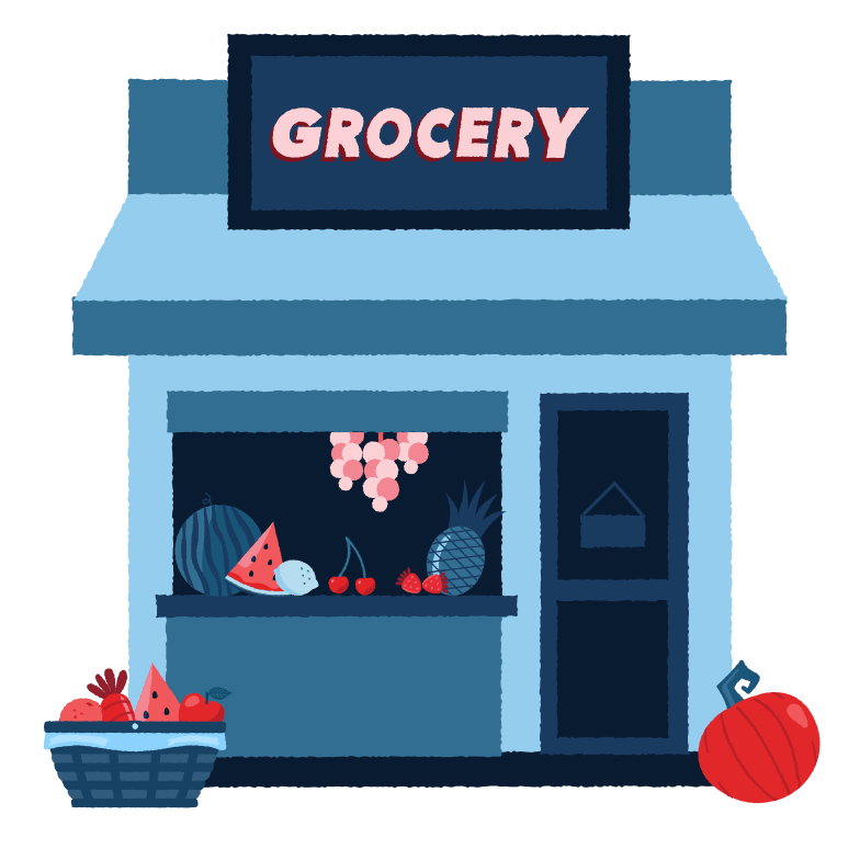 style Grocery store Vector images in PNG and SVG | Icons8 Illustrations