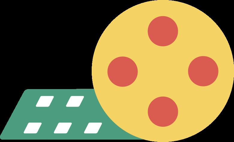 filmstrip Clipart illustration in PNG, SVG