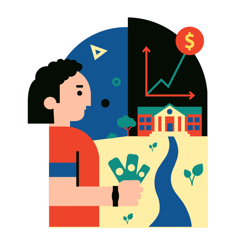 Currency growth Clipart illustration in PNG, SVG