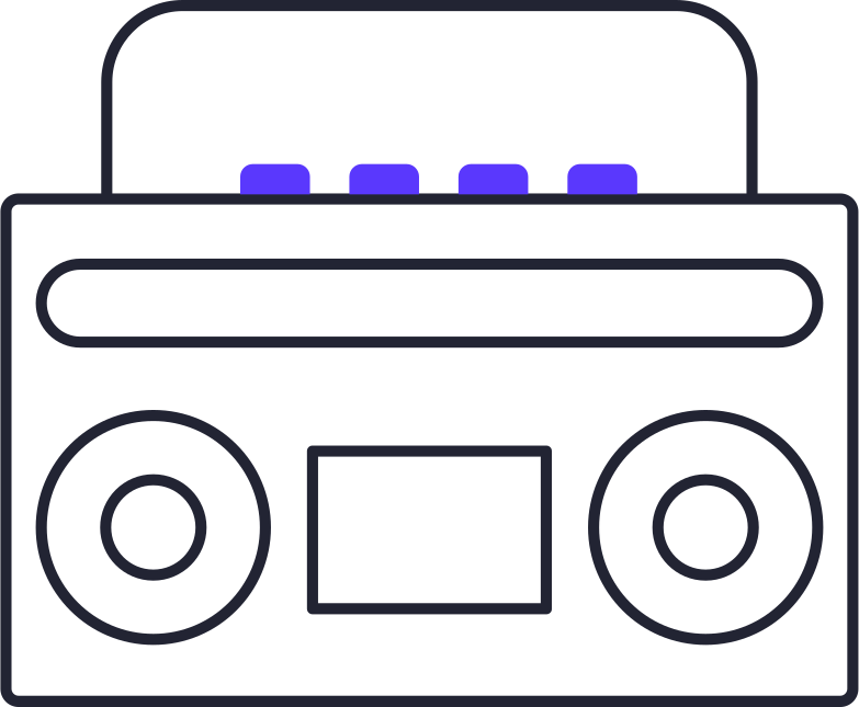 record player Clipart illustration in PNG, SVG