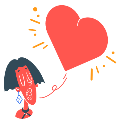 style Sending love images in PNG and SVG | Icons8 Illustrations