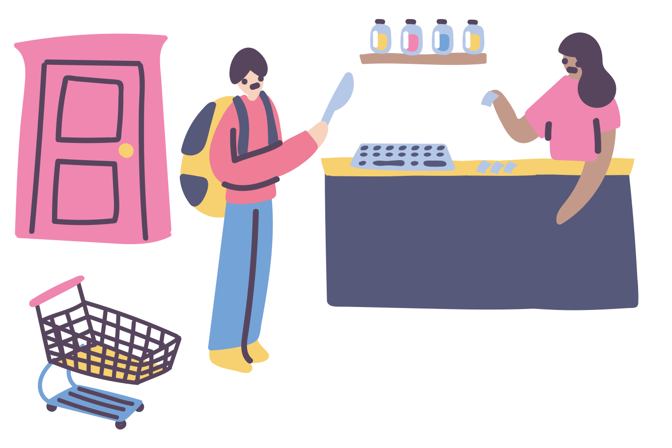 Armed robbery Clipart illustration in PNG, SVG