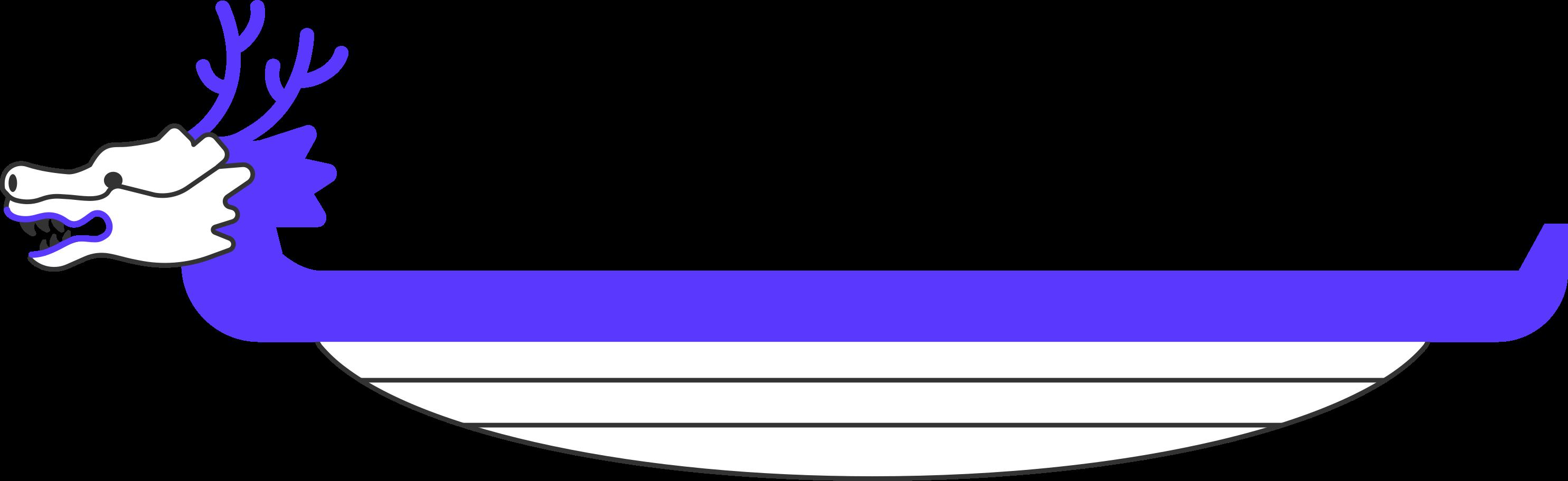 dragon boat Clipart illustration in PNG, SVG