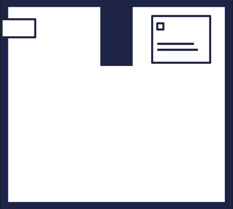 box 6 line Clipart illustration in PNG, SVG