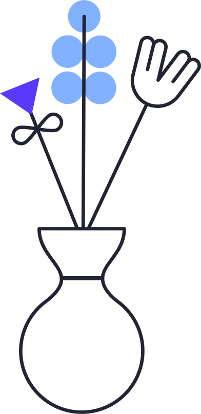 style flowers in vase images in PNG and SVG   Icons8 Illustrations